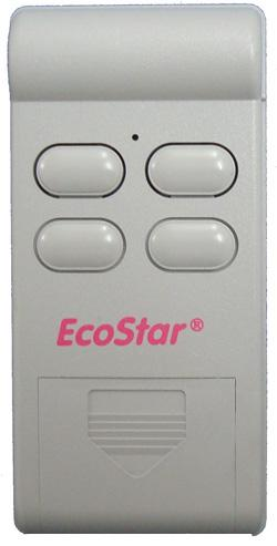 T l commande ecostar 40 2 for Porte garage sectionnelle ecostar
